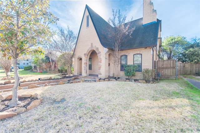 5450 Miller Avenue, Dallas, TX 75206 (MLS #14138391) :: The Mitchell Group