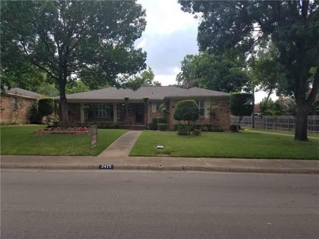 2415 Fenestra Drive, Dallas, TX 75228 (MLS #14138733) :: Kimberly Davis & Associates