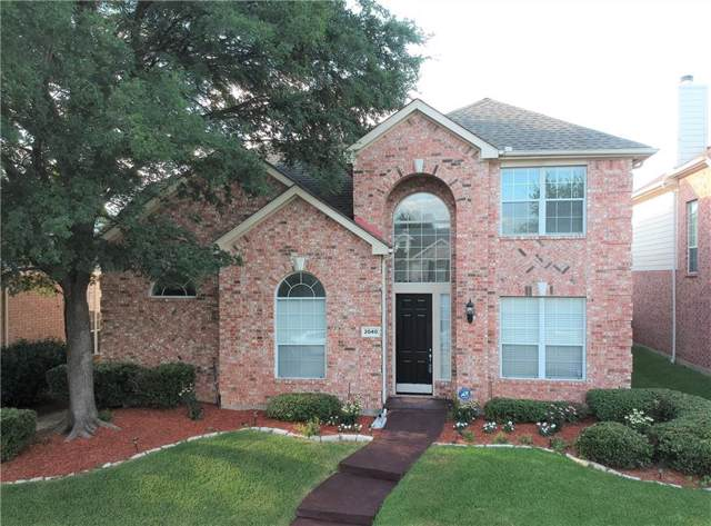 2040 Nottingham Place, Allen, TX 75013 (MLS #14138977) :: RE/MAX Town & Country