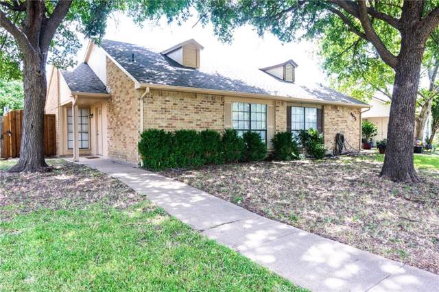 4623 Jenkins Circle, The Colony, TX 75056 (MLS #14139516) :: RE/MAX Town & Country