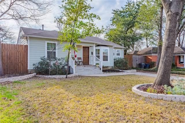 8787 Rexfordd Drive, Dallas, TX 75209 (MLS #14141486) :: Roberts Real Estate Group