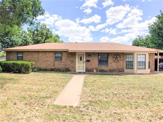 701 N 17th Street, Haskell, TX 79521 (MLS #14142156) :: RE/MAX Town & Country
