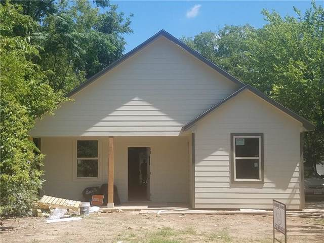 1327 E Jefferson Avenue, Fort Worth, TX 76104 (MLS #14142178) :: All Cities Realty