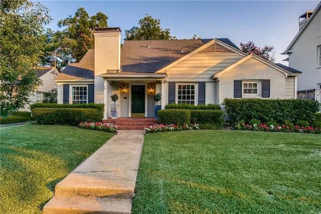 4429 Bryn Mawr Drive, University Park, TX 75225 (MLS #14142310) :: Robbins Real Estate Group
