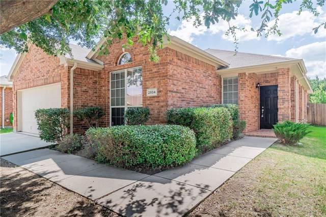 2804 Red Wolf Drive, Fort Worth, TX 76244 (MLS #14142800) :: The Tierny Jordan Network