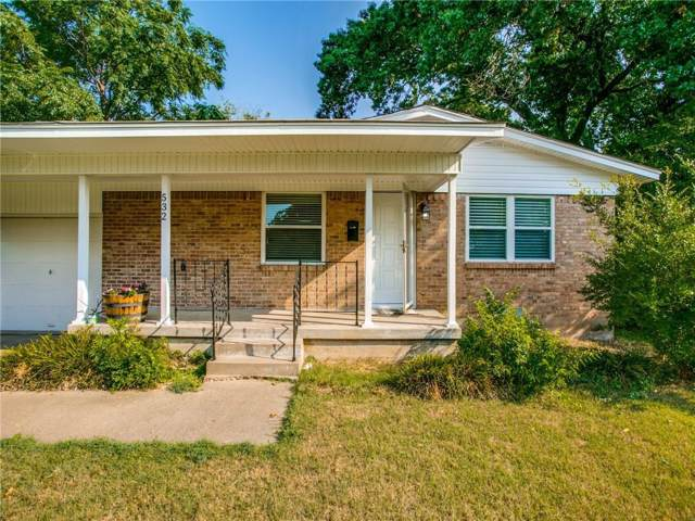 532 Westwood Drive, Richardson, TX 75080 (MLS #14144951) :: The Good Home Team