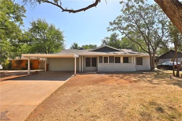 1323 N Willis Street, Abilene, TX 79603 (MLS #14148508) :: Hargrove Realty Group