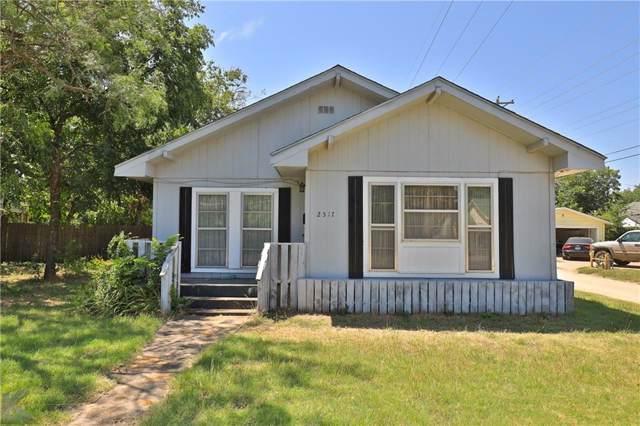 2517 S 11th Street, Abilene, TX 79605 (MLS #14149514) :: The Mitchell Group