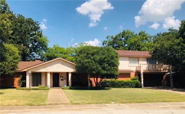 902 Tanglewood Drive W, Irving, TX 75061 (MLS #14152601) :: The Mitchell Group