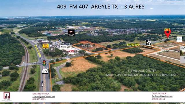 409 Fm 407, Argyle, TX 76226 (MLS #14153688) :: The Real Estate Station