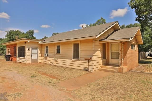 818 S Willis Street, Abilene, TX 79605 (MLS #14155735) :: Kimberly Davis & Associates