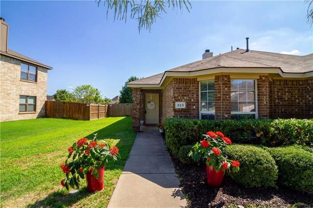 323 Highland Valley Court, Wylie, TX 75098 (MLS #14158275) :: Baldree Home Team