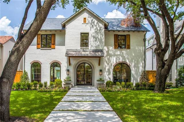 3804 Greenbrier Drive, University Park, TX 75225 (MLS #14159301) :: Century 21 Judge Fite Company