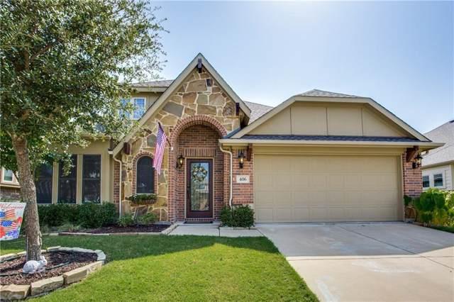 406 Kelvington Drive, Anna, TX 75409 (MLS #14159446) :: RE/MAX Landmark