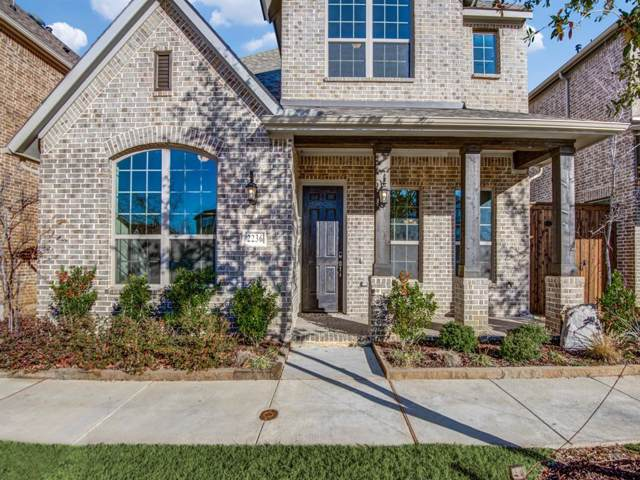 2236 Royal Crescent Drive N, Flower Mound, TX 75028 (MLS #14160268) :: Real Estate By Design