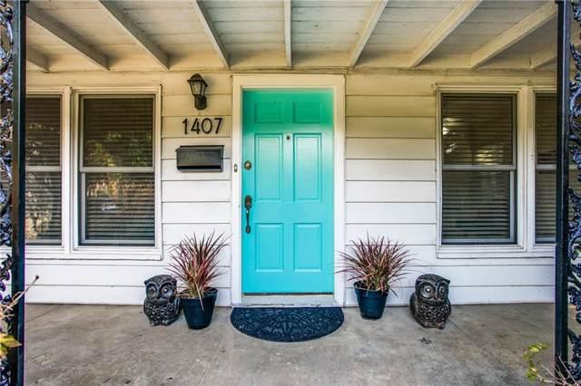1407 Melbourne Avenue, Dallas, TX 75224 (MLS #14161457) :: Ann Carr Real Estate