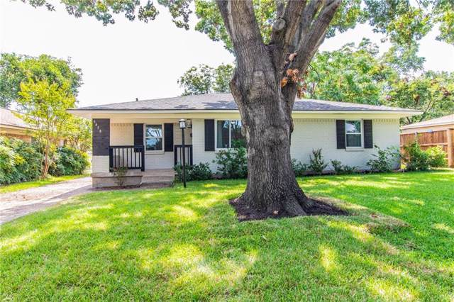 6458 Ridgemont Drive, Dallas, TX 75214 (MLS #14163046) :: The Heyl Group at Keller Williams