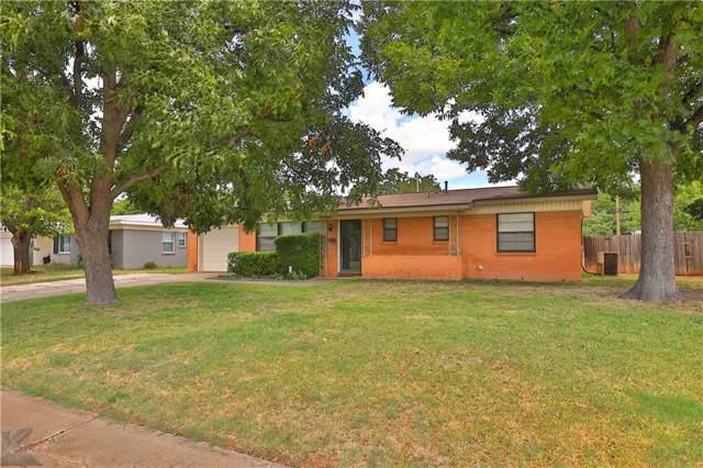 1421 Beechwood Lane, Abilene, TX 79603 (MLS #14163592) :: RE/MAX Town & Country