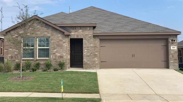 104 Evers Way, Denton, TX 76207 (MLS #14164274) :: Real Estate By Design