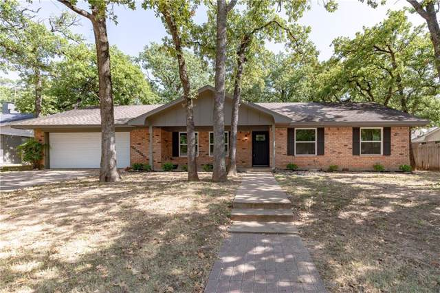 1304 W Redbud Drive, Hurst, TX 76053 (MLS #14165660) :: Hargrove Realty Group