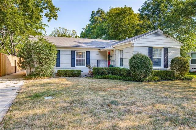 4927 Thrush, Dallas, TX 75209 (MLS #14165678) :: Tanika Donnell Realty Group