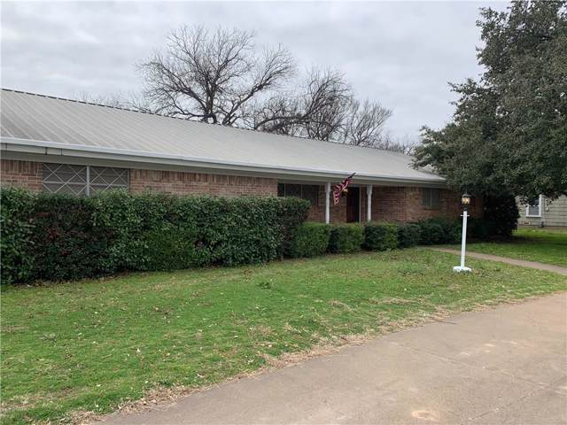 901 W Union Street, Jacksboro, TX 76458 (MLS #14165788) :: The Tierny Jordan Network