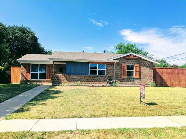 706 Westover Drive, Richardson, TX 75080 (MLS #14165996) :: The Good Home Team