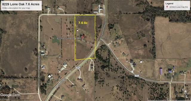 8229 E Lone Oak Road, Valley View, TX 76272 (MLS #14170197) :: Roberts Real Estate Group