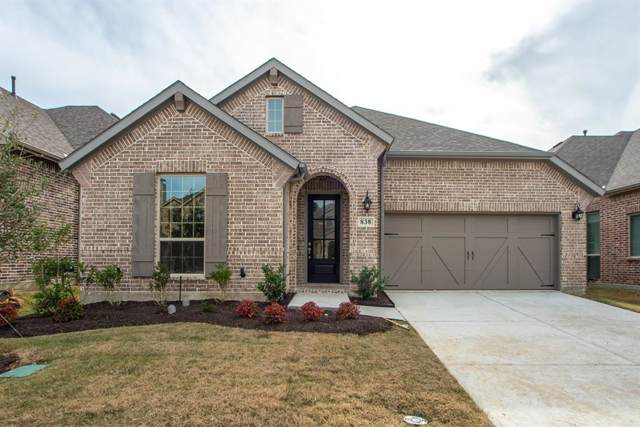 838 Underwood Lane, Celina, TX 75009 (MLS #14171638) :: The Tierny Jordan Network