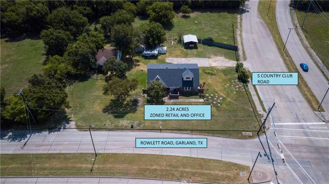 1314 Rowlett Road, Garland, TX 75043 (MLS #14172259) :: The Kimberly Davis Group