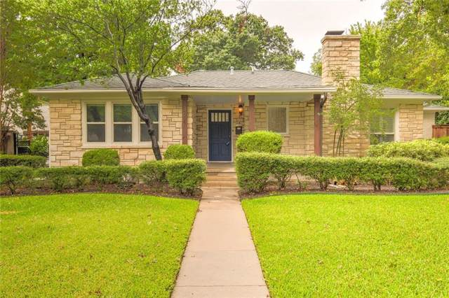 3627 W Biddison Street, Fort Worth, TX 76109 (MLS #14172338) :: All Cities Realty