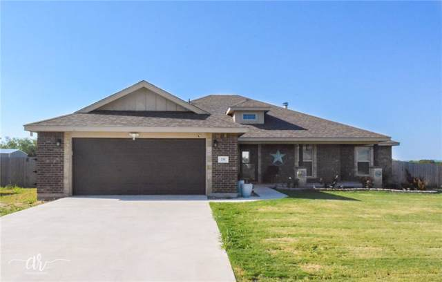 235 Countryside Drive, Tuscola, TX 79562 (MLS #14175135) :: Kimberly Davis & Associates