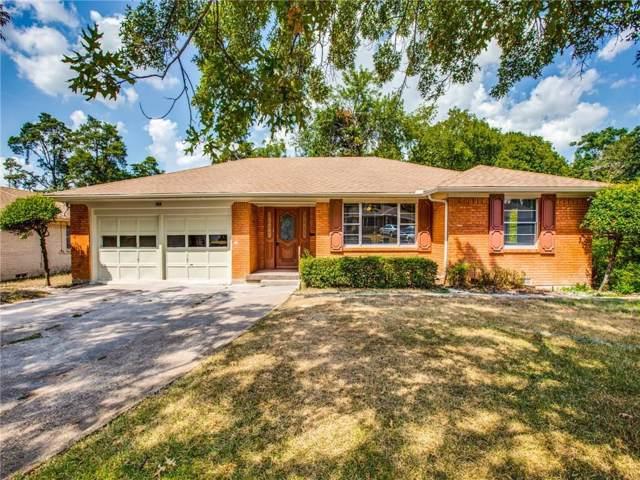 7439 Chula Vista Drive, Dallas, TX 75227 (MLS #14175367) :: Lynn Wilson with Keller Williams DFW/Southlake