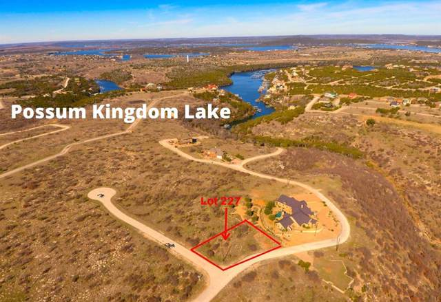 Lot 227 The Dunes Drive, Possum Kingdom Lake, TX 76449 (MLS #14175589) :: The Daniel Team