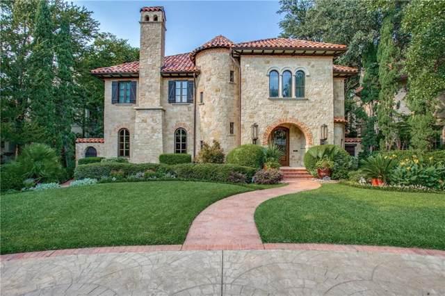 3826 Maplewood Avenue, Highland Park, TX 75205 (MLS #14176693) :: RE/MAX Landmark
