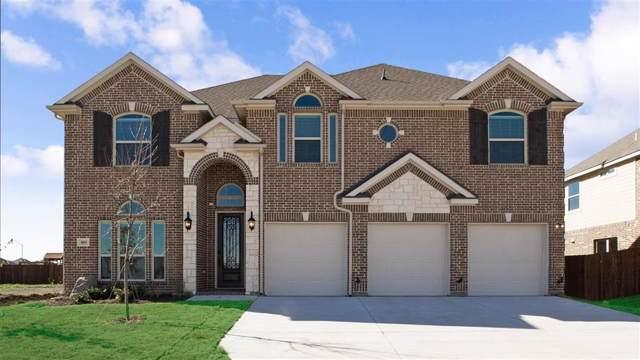 805 Darcy Drive, Mansfield, TX 76063 (MLS #14177762) :: The Tierny Jordan Network