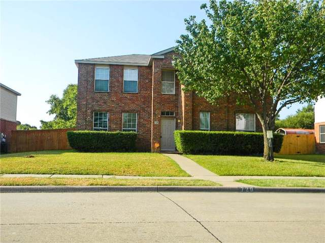 720 Princeton Drive, Desoto, TX 75115 (MLS #14178673) :: Century 21 Judge Fite Company