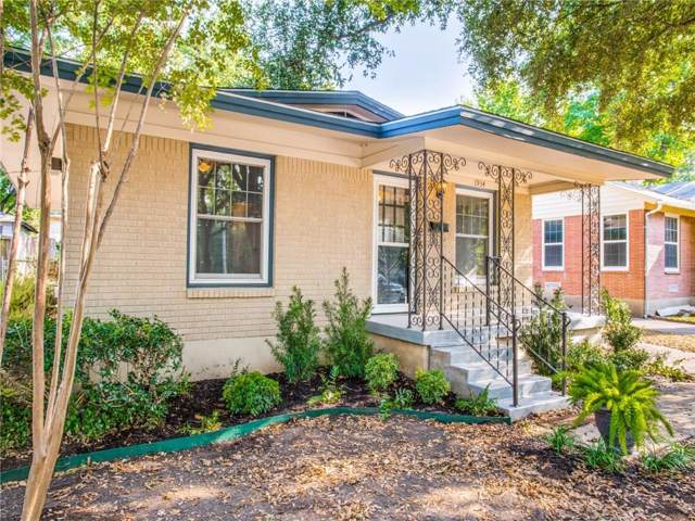 1934 Elmwood Boulevard, Dallas, TX 75224 (MLS #14180476) :: Ann Carr Real Estate