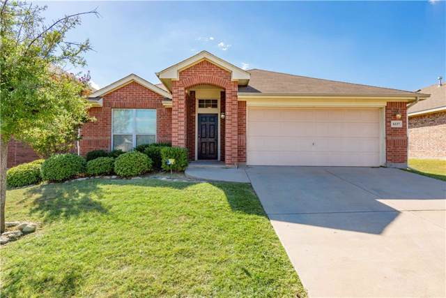 6137 Tilapia Drive, Fort Worth, TX 76179 (MLS #14182509) :: Real Estate By Design