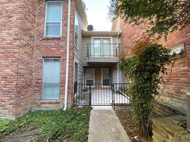 7510 Holly Hill Drive #138, Dallas, TX 75231 (MLS #14183252) :: Century 21 Judge Fite Company
