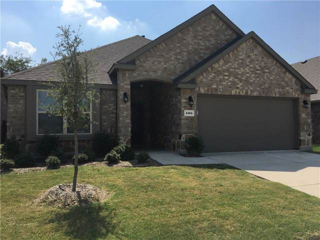 1104 Lake Sierra Way, Little Elm, TX 75068 (MLS #14184754) :: All Cities Realty