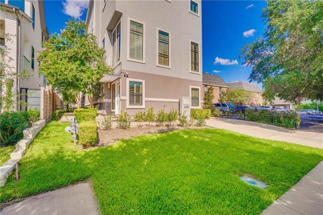 4212 Bowser Avenue B, Dallas, TX 75219 (MLS #14184910) :: Kimberly Davis & Associates