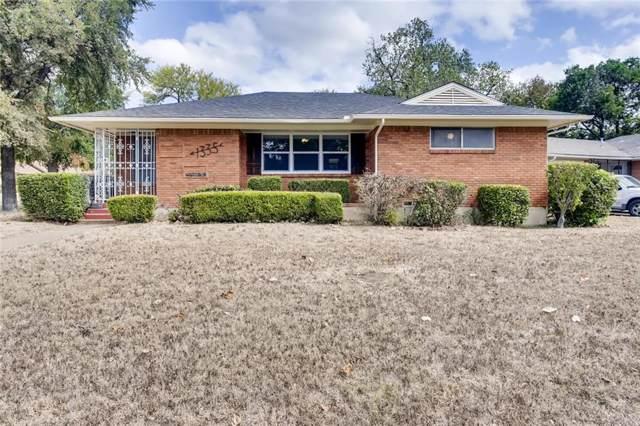 1335 E Pentagon Parkway, Dallas, TX 75216 (MLS #14187866) :: Baldree Home Team