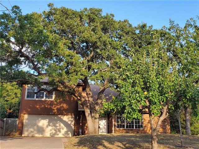 612 Timberoaks Drive, Azle, TX 76020 (MLS #14189976) :: RE/MAX Town & Country