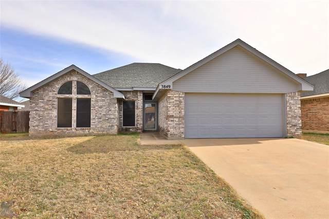 3849 Wake Forest, Abilene, TX 79602 (MLS #14192674) :: The Chad Smith Team