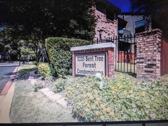 5335 Bent Tree Forest Drive #183, Dallas, TX 75248 (MLS #14193071) :: Century 21 Judge Fite Company
