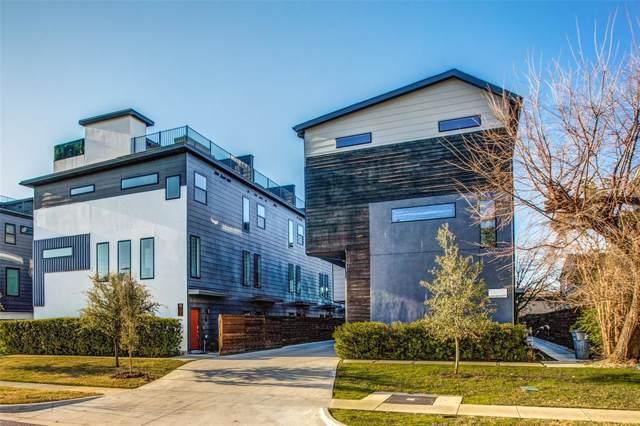 1725 Bennett Avenue #104, Dallas, TX 75206 (MLS #14195282) :: Century 21 Judge Fite Company