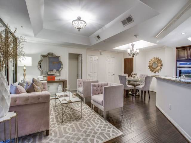5909 Luther Lane #1900, Dallas, TX 75225 (MLS #14195512) :: The Hornburg Real Estate Group