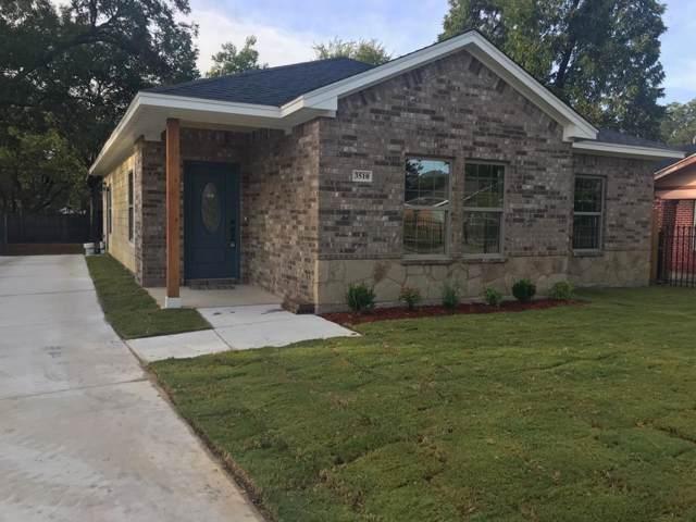 3510 Avenue M Street, Fort Worth, TX 76105 (MLS #14196281) :: Lynn Wilson with Keller Williams DFW/Southlake