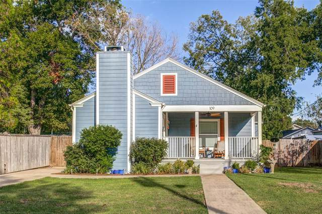 109 S Morris Street, Mckinney, TX 75069 (MLS #14196574) :: All Cities Realty